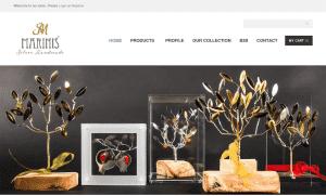 Κατασκευή e-shop για την εταιρία Silver Hand Made