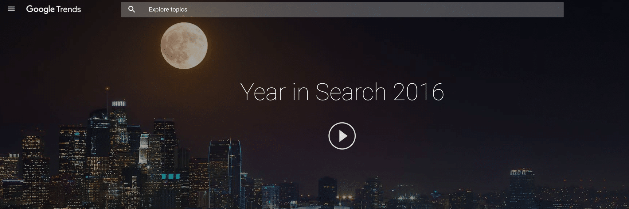 Google: Year In Search 2016