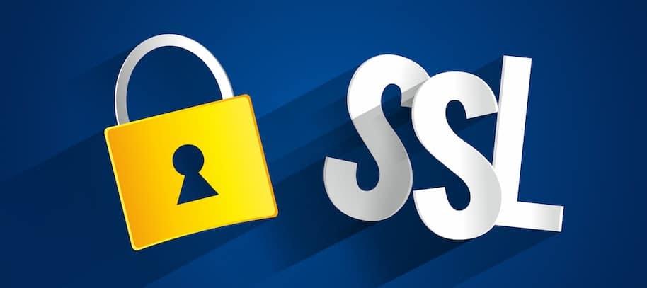 πιστοποιητικό ασφαλείας SSL