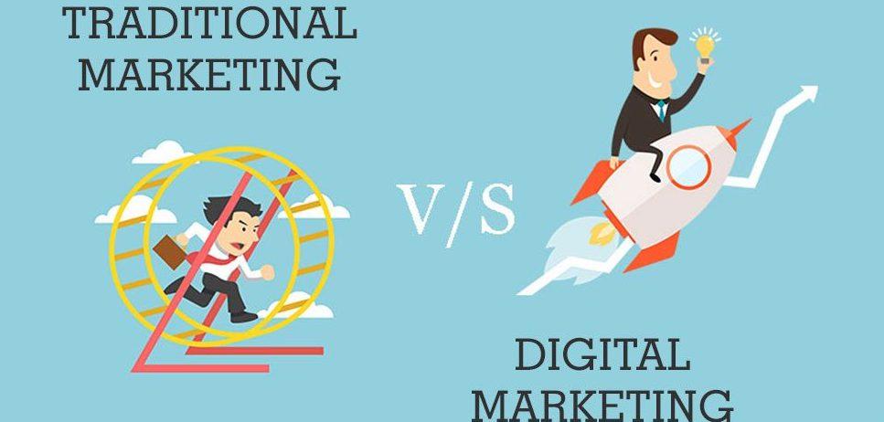 Σύγκριση παραδοσιακού marketing με Internet marketing