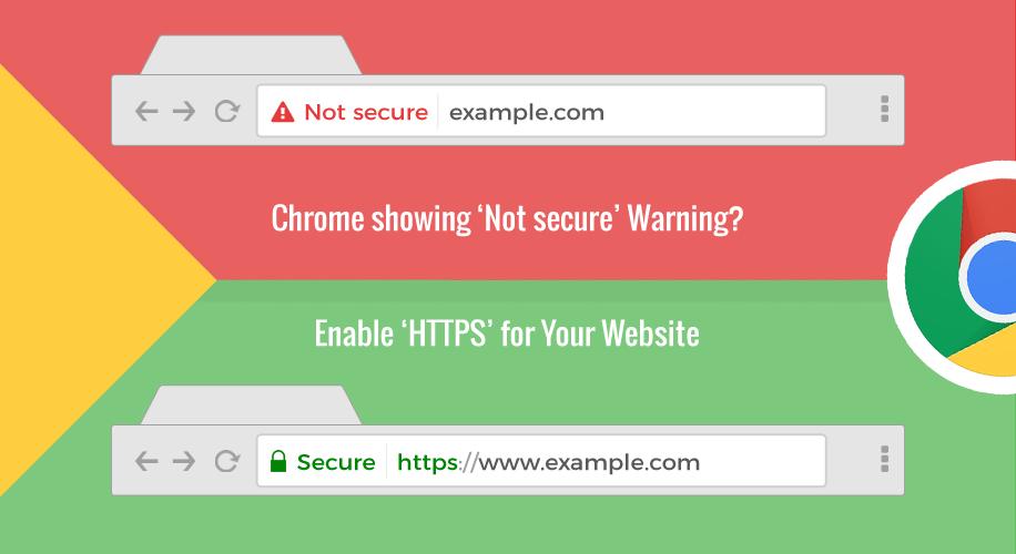 "O Chrome θα θεωρεί ""μη ασφαλή"" όσα sites δε χρησιμοποιούν HTTPS"