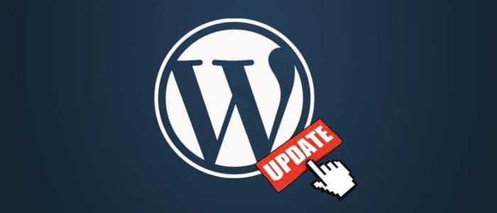 αναβάθμιση του WordPress