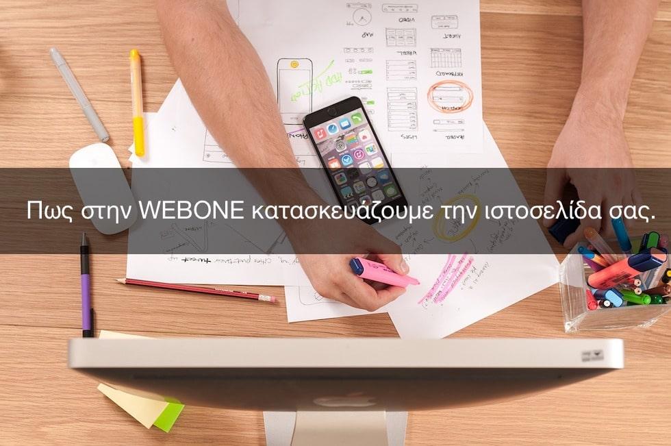 Πως στην WEBONE κατασκευάζουμε την ιστοσελίδα σας